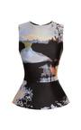 Woodstock Sleeveless Top by Mary Katrantzou Now Available on Moda Operandi