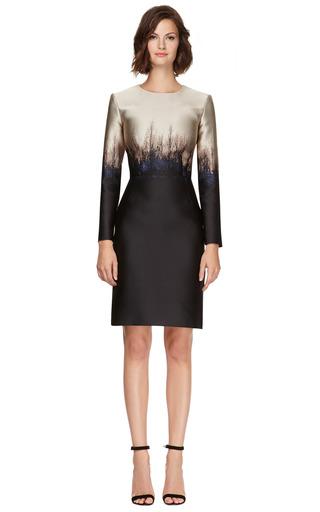 Saga Trees Fitted Dress by MARY KATRANTZOU Now Available on Moda Operandi