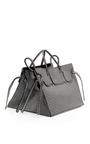 M'O Exclusive: Luxe Leather Rectangular Bag by Slow and Steady Wins the Race Now Available on Moda Operandi
