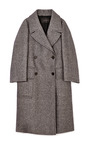 Reeves Double-Breasted Tweed Overcoat by Calvin Klein Collection for Preorder on Moda Operandi