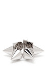 Extra Large Silver Plated Cone Bracelet by EDDIE BORGO Now Available on Moda Operandi