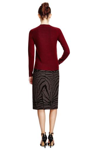 Kenzo - Intarsia Detail Wool Sweater