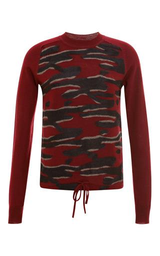 Intarsia Detail Wool Sweater by Kenzo Now Available on Moda Operandi