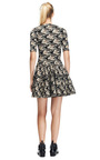 Jacquard Stretch Knit Dress by Kenzo Now Available on Moda Operandi