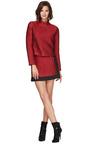Chew Zipper Mini Skirt by OPENING CEREMONY Now Available on Moda Operandi
