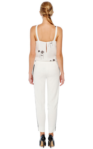Hand-Pleated Ruffle Neck Halter Blouse by Prabal Gurung Now Available on Moda Operandi