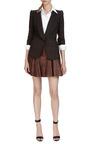 Leather Mini Skirt by Thakoon Addition Now Available on Moda Operandi
