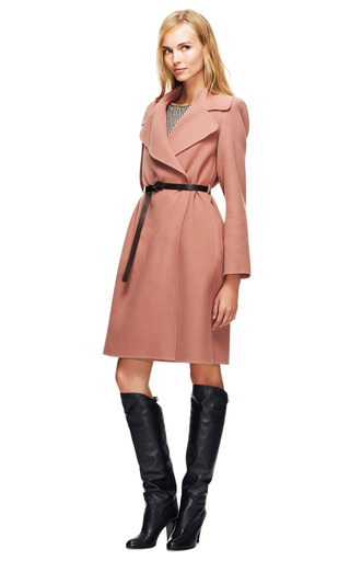 Double-Faced Cashmere Belted Coat by Marc Jacobs Now Available on Moda Operandi