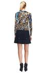 Wool-Blend Flared Skirt by Prabal Gurung Now Available on Moda Operandi