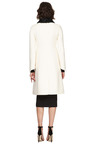 Valentino - Wool-Blend Astrakhan Collared Coat