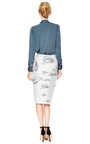 Brana Fayl Silk Button Down Blouse by Theyskens' Theory Now Available on Moda Operandi