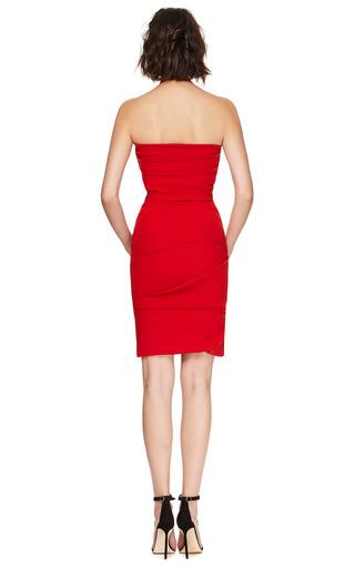 Ripple Satin Dress by PREEN BY THORNTON BREGAZZI Now Available on Moda Operandi