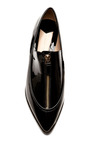 Arty Patent Leather Zipper Detailed Flats by DEREK LAM 10 CROSBY Now Available on Moda Operandi