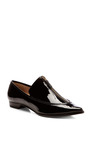 Derek Lam 10 Crosby - Arty Patent Leather Zipper Detailed Flats