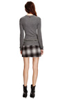 Ombre Plaid Wool-Blend Asymmetric Skirt by Derek Lam 10 Crosby Now Available on Moda Operandi