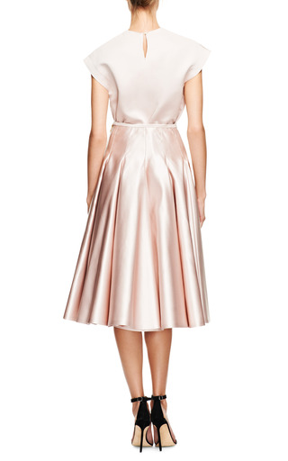 Duchesse Satin Top by ROCHAS Now Available on Moda Operandi