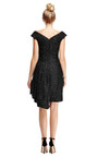 Tinsel Dress with Draped Side by Simone Rocha Now Available on Moda Operandi