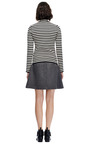 Wool-Blend Quilted Front Skirt by Thakoon Addition Now Available on Moda Operandi
