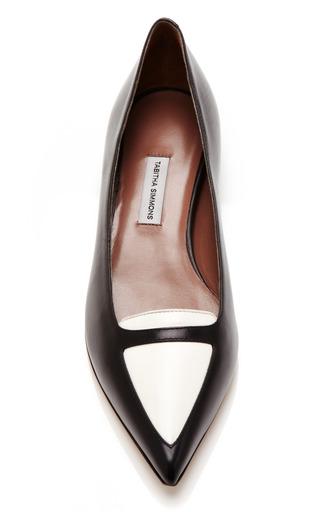 Alexa Two-Tone Leather Flats by Tabitha Simmons Now Available on Moda Operandi