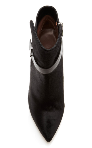Hunter Leather And Calf Hair Ankle Boots by TABITHA SIMMONS Now Available on Moda Operandi