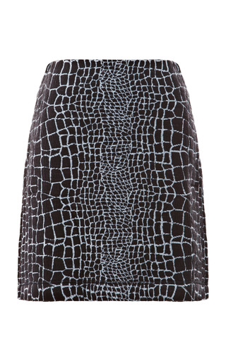 Medium_reptile-print-jacquard-jersey-mini-skirt