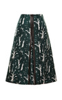 Silk-Blend Printed Skirt by Marni Now Available on Moda Operandi
