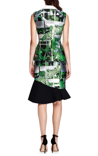 Ikebana-Printed Jacquard Vest by Peter Pilotto Now Available on Moda Operandi