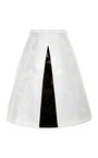 Grace Floral Jacquard A-Line Skirt by Peter Pilotto Now Available on Moda Operandi