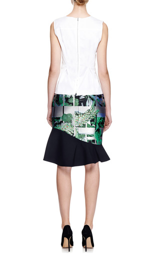 Seam-Detail Cotton Top by Nina Ricci Now Available on Moda Operandi