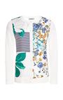 Floral-Print Silk Cardigan by Nina Ricci Now Available on Moda Operandi