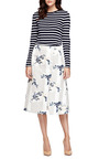 Floral-Print Satin A-Line Wrap Skirt by Suno Now Available on Moda Operandi
