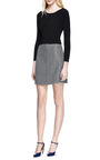 Tweed A-Line Skirt by Carven for Preorder on Moda Operandi