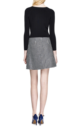 Carven - Tweed A-Line Skirt