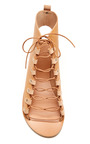Ancient Greek Sandals - Lace-Up Leather Gladiator Sandals