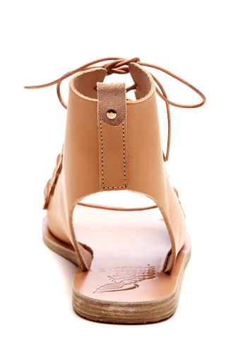 Lace-Up Leather Gladiator Sandals by Ancient Greek Sandals Now Available on Moda Operandi