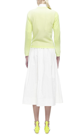 Color-Block Cashmere Sweater by Kenzo Now Available on Moda Operandi