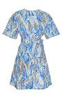 Kenzo - Printed Cotton Wrap Dress