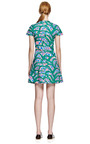 Kenzo Printed V-Neck Cotton Dress by Kenzo for Preorder on Moda Operandi