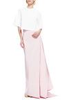 Silk-Faille Draped-Back Maxi Skirt by Rosie Assoulin Now Available on Moda Operandi