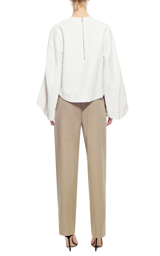 Cotton and Linen Blend Drawsting Cargo Pants by Rosie Assoulin Now Available on Moda Operandi