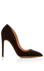 Elba Suede Pumps by Rupert Sanderson Now Available on Moda Operandi