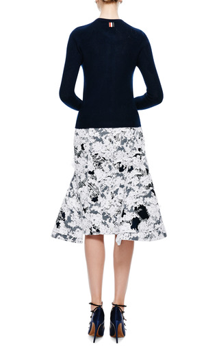 Slim-Fit Cashmere Cardigan by Thom Browne Now Available on Moda Operandi