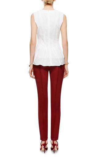 Rosie Assoulin - Cuffed Silk-Faille Cigarette Pants