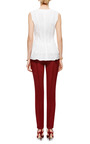 Cuffed Silk-Faille Cigarette Pants by Rosie Assoulin for Preorder on Moda Operandi
