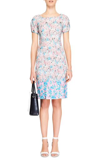 Floral-Print Lace Dress by Nina Ricci Now Available on Moda Operandi