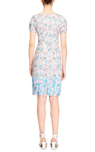 Floral Print Lace Dress by NINA RICCI Now Available on Moda Operandi