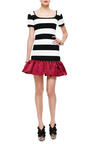 Mother of Pearl - Reno Striped Ruffled-Hem Jersey Dress