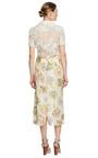 Hand-Painted Velvet Jacquard Skirt by Rochas Now Available on Moda Operandi