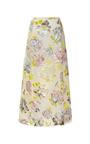 Hand Painted Velvet Jacquard Skirt by ROCHAS Now Available on Moda Operandi