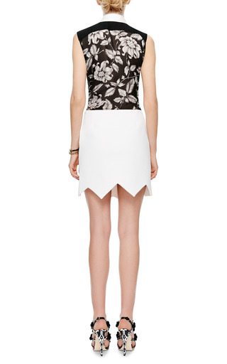 Aero Quilted-Crepe Skirt by Preen by Thornton Bregazzi Now Available on Moda Operandi